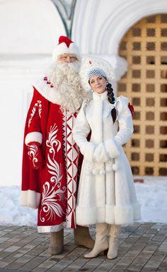 Костюм Деда Мороза в Ярославле, костюм Снегурочки в Ярославле