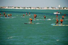 départ de la course de paddle du #fbc10 #fouras #iledaix #charentemaritime #igerscharentemaritime #igerslarochelle #mer #ocean #sea #sunset #couchédesoleil #beach #plage #rochefortocean