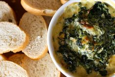 Warm Spinach Mascarpone Dip | 26 Reasons You Don't Need Meat At Your Super Bowl Party