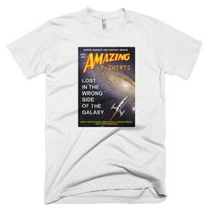 Amazing T-Shirts Space Age Nostalgia Short Sleeve Men's T-Shirt