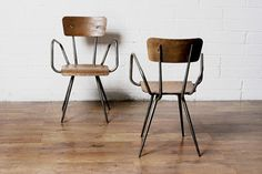 quirky wood chairs via:life on sundays