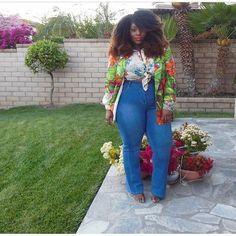 Plus Size Fashion -https://instagram.com/ivoryjinelle/