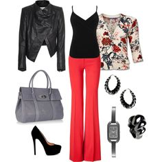 From work to play, created by stacey-melquist.polyvore.com