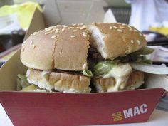 McDonald's uses it in its regular bun, bakery-style bun, Big Mac bun, sesame seed bun, bagel, and English muffin. http://www.foodmatters.tv/articles-1/11-foods-made-with-a-yoga-mat-chemical
