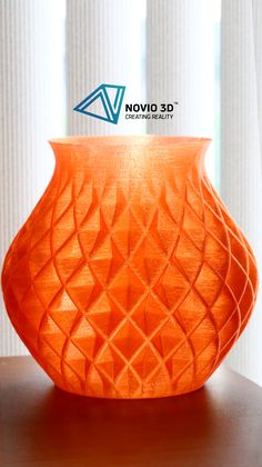 3D Printed Spiral VASE  ==3D Printing Details== Nozzle Tip Size: 0.4 mm Layer Height: 240 microns Print Material: PLA filament Print Mode: Default Hollow Total Printing Time: 17 hours and 35 minutes Print Size Width: 125mm Print Size Height: 200mm (Maximum)  #large #vase #vases #spiral #3dprinted #3dprintedmodel #3dprintedmodels #3dprintedobject #3dprintedobjects #3dprinting #novio3d #novio3dprinter #3dprinter #3dprinters #3dprintingengineering #3dprintingarchitecture