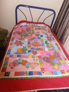 Milla's birth quilt
