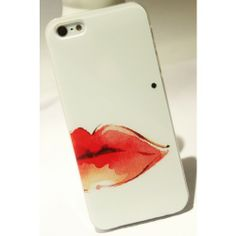 $9.99   Sexy Red lip pigmented naevus Hard Cover Case For Iphone 4/4s/5