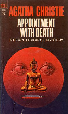 Appointment with Death (1966) by Book Covers: Vintage Paperbacks, Mars Sci-Fi, via Flickr