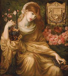 Dante Gabriel Rossetti - La viuda romana (Dîs Manibus) - Dante Gabriel Rossetti - Wikipedia, the free encyclopedia