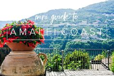 The Amalfi Coast really is a dream location. I our mini guide to Amalfi Coast will share all the things we wish we knew before going to the Amalfi Coast.