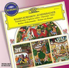 RIMSKY-KORSAKOV Scheherazade - Karajan - Deutsche Grammophon