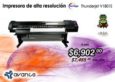¡Impresora de alta resolución Thunderjet en promoción!... una razón más para sonreír en el #DiaMundialdelaSonrisa