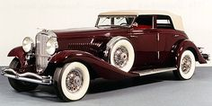 1934 DUESENBERG J ROLLSTON SPORT SEDAN