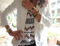 white on white aztec...dream