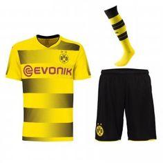 2017 Cheap Kit Borussia Dortmund Home Replica Full Suit [AFC340]