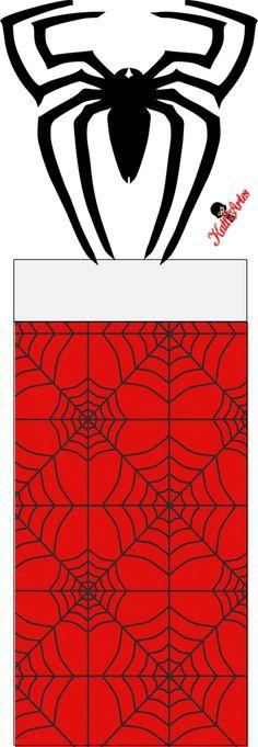 Spiderman Envoltorios Especiales para Golosinas, para Imprimir Gratis. | Ideas y material gratis para fiestas y celebraciones Oh My Fiesta!