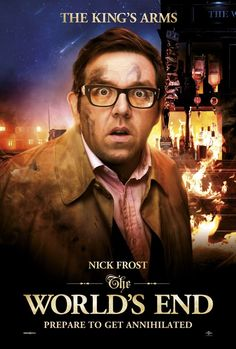 Nick Frost | Poster---and this mother surprised the shit out of me with his character in this movie. <3 it.