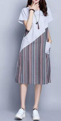 Best dress short sleeve casual for women Ideas - Trendy Dresses Cute Formal Dresses, Trendy Dresses, Simple Dresses, Nice Dresses, Casual Dresses, Fashion Dresses, Short Sleeve Dresses, Short Fitted Dress, Batik Fashion