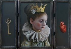 Kai Fine Art is an art website, shows painting and illustration works all over the world. Magic Realism, Realism Art, Woman Painting, Painting & Drawing, Fractured Fairy Tales, Art Thou, Funky Art, Pop Surrealism, Photoshoot Inspiration