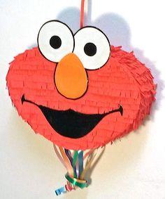 Piñata Elmo de Barrio Sésamo