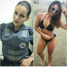 A selection of photos of hot beauties in uniforms that get even hotter when this uniform is removed. Mädchen In Uniform, Military Girl, Female Soldier, Military Women, Girls Uniforms, Badass Women, Sexy Hot Girls, Squad, Fit Women