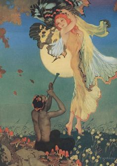 """""""Pipes Of Pan"""" by Elsie Harding"""
