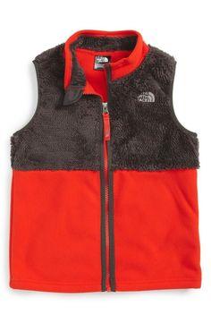 North Face toddler Boys Chimborazo Vest Size 2T graphite Grey fiery red $55 new  | eBay