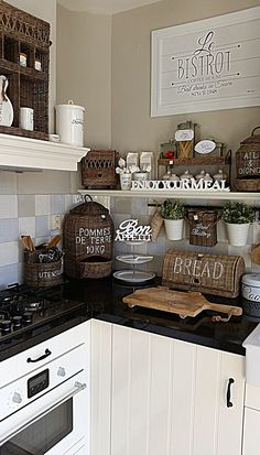 Looks like I need to go to our shop in our village to check out the 2016 collection for my new kitchen! Love Rivera Maison