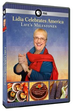 Join beloved chef and author Lidia Bastianich on a deeply personal culinary journey in celebration of life's milestones, sharing in the wonderful diversity of American culture and food. 60 min. http://highlandpark.bibliocommons.com/search?utf8=%E2%9C%93&t=smart&search_category=keyword&q=lidia+celebrates&commit=Search