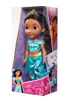 Enthusiastic Disney Singing Jasmine Doll With Outfit And Accessories Attractive And Durable Disney Dolls, Clothing & Accessories