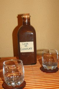Licor de chocolate