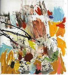 Georg Baselitz, Deutscher Maler und Bildhauer, geboren am 23.01.1938 in Deutschbaselitz/Sachsen als Hans-Georg Kern)
