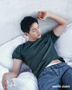 Song Joong Ki for Marie Claire Korea, June 2016