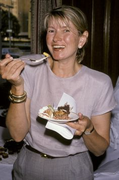 Martha Stewart during 'Let Them Eat Cake' The National Pastry Competition's July 16 1990 at Plaza Hotel in New York City New York United States