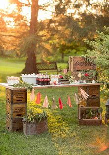 Outdoor movie night   Browse Wedding & Party Ideas   100 Layer Cake