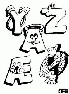* Y, Z en anderen met grappige tekeningen