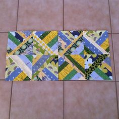 Sew. Quilt. Give. October blocks.