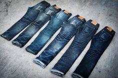 Evolution  #denim #jeans #menswear #selvedge #indigo #fashion