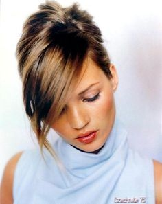 Kate Moss amazing part and swooped bangs