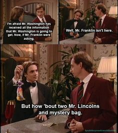 """Boy Meets World. This is literally my favorite moment on the show. When I first saw Eric pull out the """"Mystery Bag"""", I almost died laughing!"""