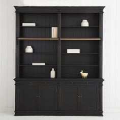 Provincial Home Living Obernai 2 Section Library $2699