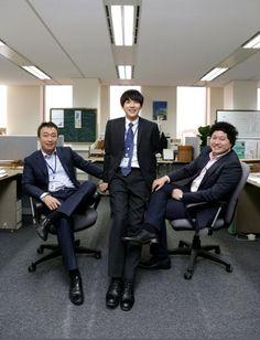 Misaeng: Lee Sung Min, Im Siwan and Kim Dae Myung