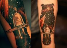50 All Star Galaxy Tattoos