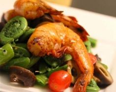shrimp scampi shrimp tomato and fiddlehead shrimp scampi shrimp scampi ...