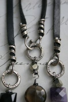 New online jewelry making class-The Art of Closure!  http://somethingsublime.typepad.com/jewelry_works/the-art-of-closure.html