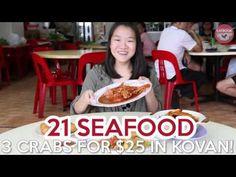 21 Seafood Review: Get Three Sri-Lankan Crabs For $25 At Kovan - EatBook.sg