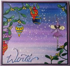 Barnsley Crafter: Mistletoe Fairy