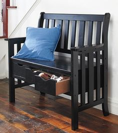 No mudroom in your house? Try Wildon Home's storage bench with a trio of drawers under its seat. $169 at Wayfair.