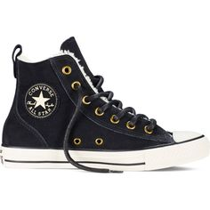 f0a9a3ba20ddb Converse Chuck Taylor All Star Chelsee – black Sneakers (1 070 ZAR) ❤ liked