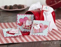 Kathy Martin Valentines - Paper Crafts & Scrapbooking February 2014 issue